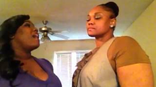 Mother to Daughter song, female duet acapella cover by Christine & Deanna Dixon