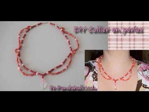 collier de perle facile a faire
