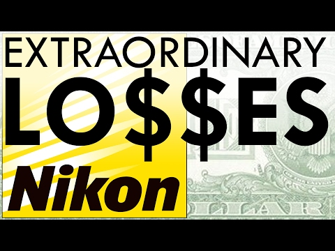 "Is Nikon FAILING?! ""Extraordinary Losses"""