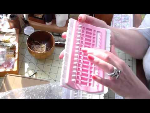 органайзер для вышивания своими руками