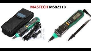 Супер удобный мультиметр. Теперь не нужно его придерживать коленкой) Обзор Mastech MS8211D