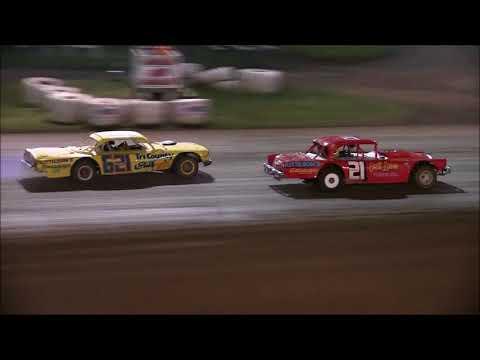 2017 Ill Vintage Series comes to farmer City Raceway  heat races