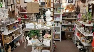 Spring 2018 Antique Mall Booth Tour! 4/15/2018