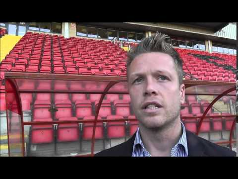 Nathan Clarke post Swindon (Clip from Orient Player)