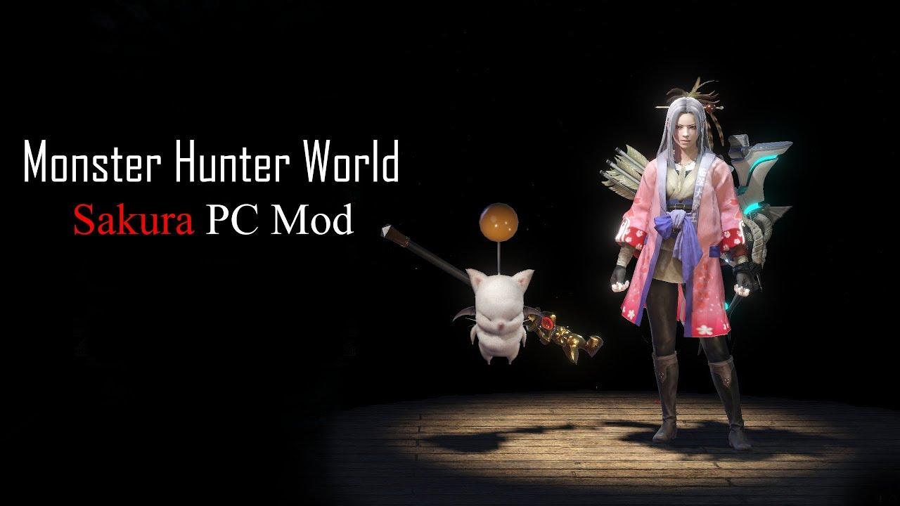 Monster Hunter World Sakura PC Mod