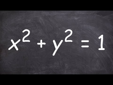 Determine whether an equation determines y as a functions of x