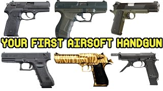 Beginners Guide on How to Buy Your First Airsoft Hand Gun