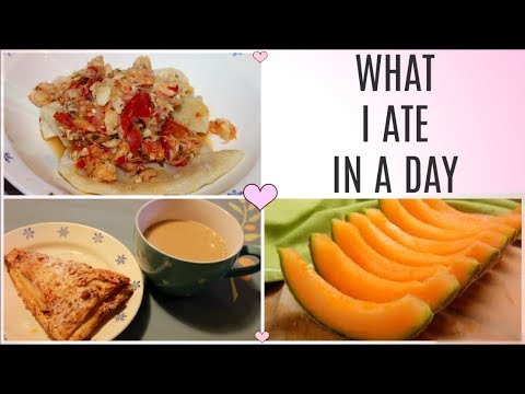 WHAT I ATE IN A DAY | FLAIRELLE