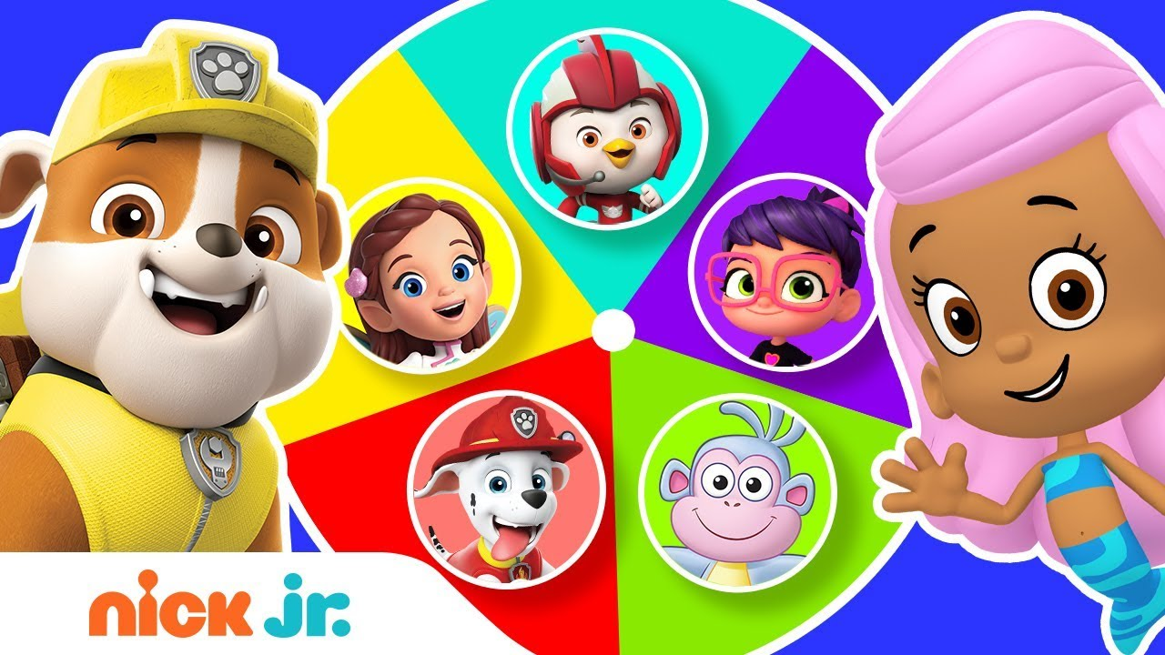 Guess the Missing Colors w/ PAW Patrol, Bubble Guppies & More! 🌈 | Color  Game! Ep  3 | Nick Jr