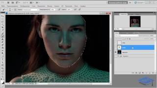 Делаем стильную обработку портрета в Фотошоп – 1