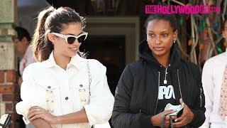 Sara Sampaio & Jasmine Tookes Speak On Kim Kardashian