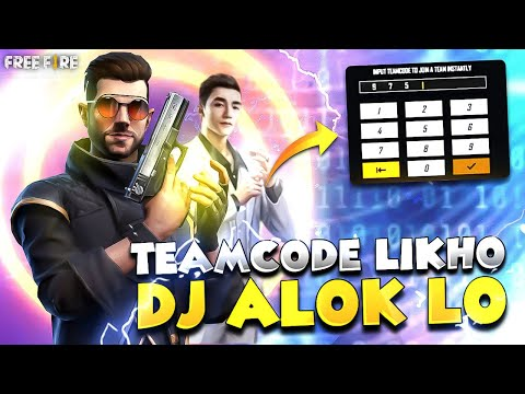 free fire team code djalok and diamond giveway new top up live now..
