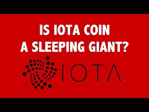 Is IOTA Coin a Sleeping Giant?