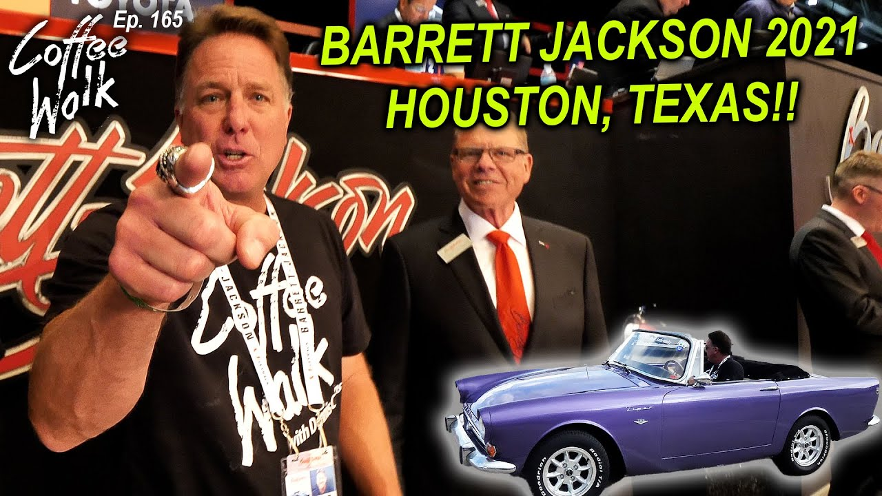 Download BARRETT-JACKSON 2021 HOUSTON, TEXAS!! + Inside look at selling cars at auction!