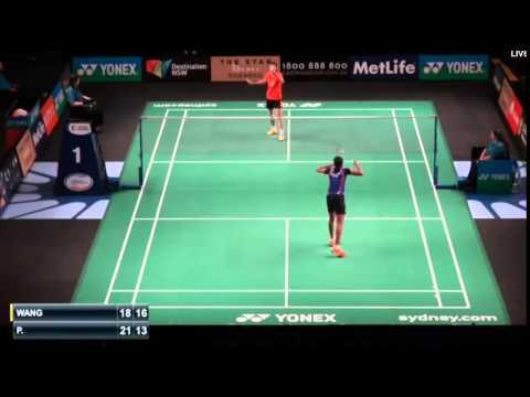Wang Yihan vs Sindhu P V | R1 Australian Badminton Open 2015