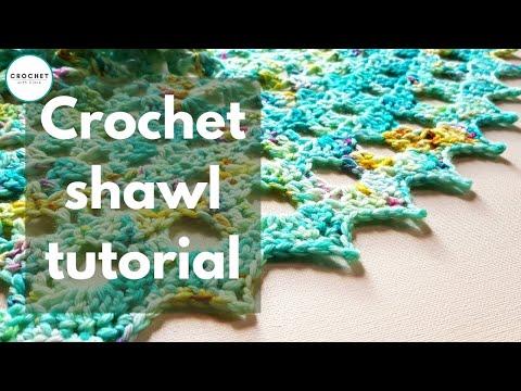 Crochet Me Shawl Tutorial
