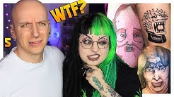 Reacting To The WORST TATTOO FAILS (ft. Emily Boo) | Tattoos Gone Wrong 5 | Roly Reacts