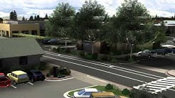 Master Planning Video - Architectural Visuals - CVS Pharmacy and Chase Bank Sebastopol, CA