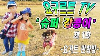 [요구르트TV]요거트 만화1'슈퍼 강콩이!!!&…