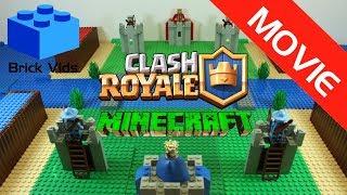 Lego Clash Royale Minecraft Edition - Lego Minecraft Stop Motion - Lego Clash of Clans