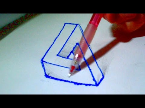 how to draw impossible n