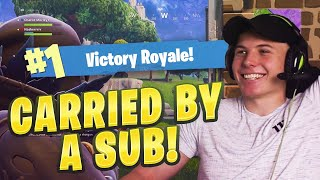 BEST GAME WINNING CLUTCH on Fortnite Battle Royale