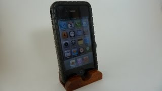 Making Ipod/iphone Wooden  Stand