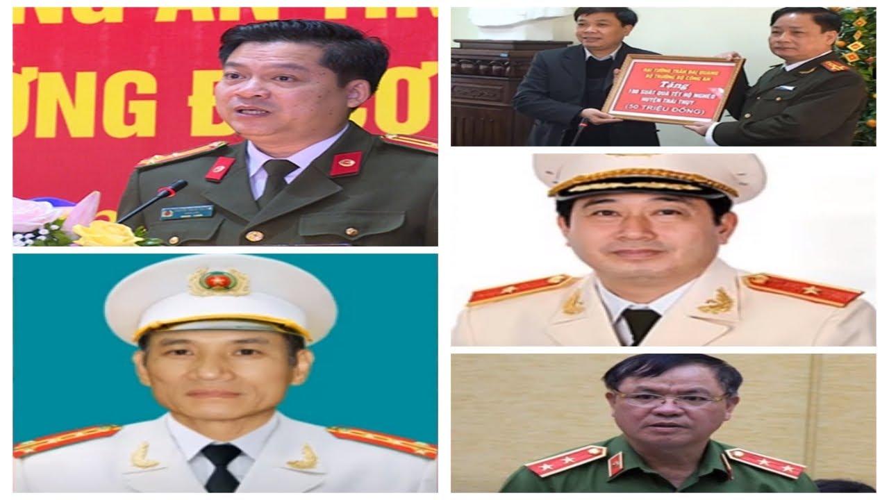 Chân dung 5 vị giám đốc công an tỉnh Thái Bình qua các thời kỳ từ khi xuất hiện Đường Nhuệ