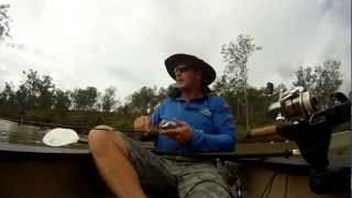 Canoe Bass Fishing