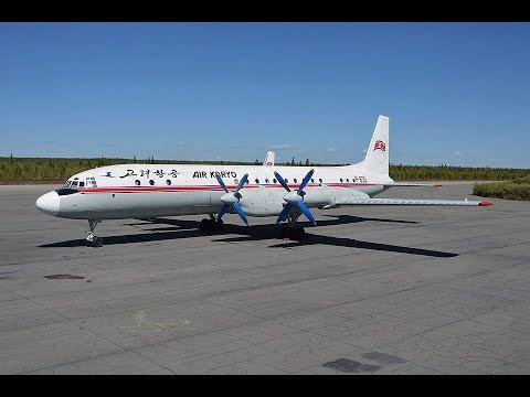 Flying Air Koryo Ilyushin IL-18 to Samjiyon, visiting Mount Paektu