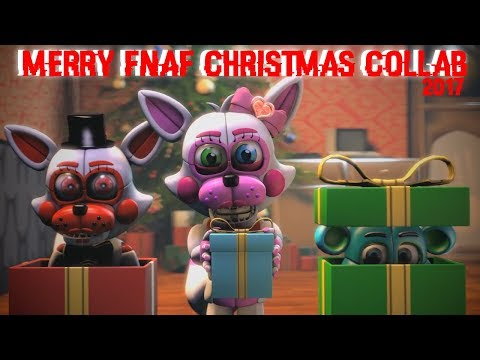 [SFM] Merry FnaF Christmas By JT Music (Live Version) | Collab 2017 🎄🎄