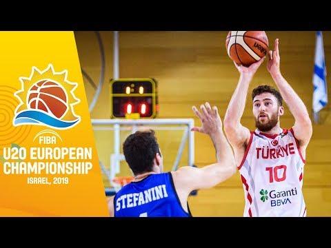Turkey V Italy - Full Game - FIBA U20 European Championship 2019