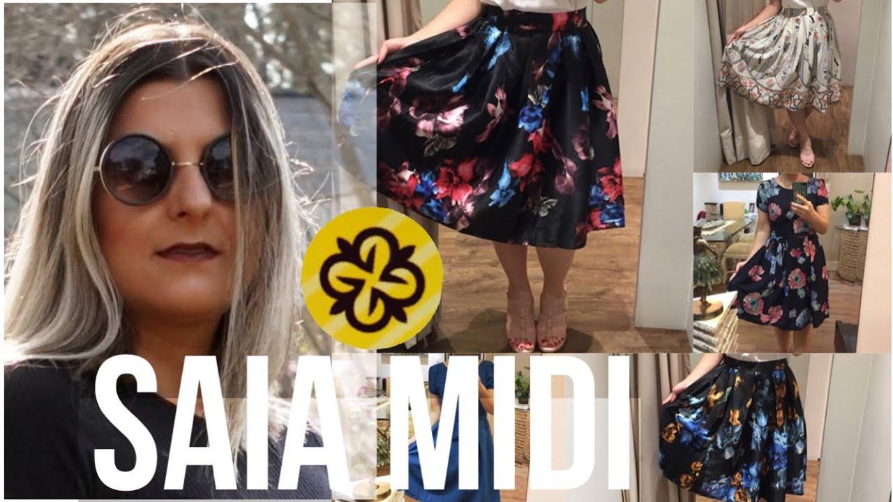 477a3987c SAIA MIDI TOP NO BRÁS SHOP NEW MALL | QUALIDADE PARA REVENDA | MODA  EVANGÉLICA