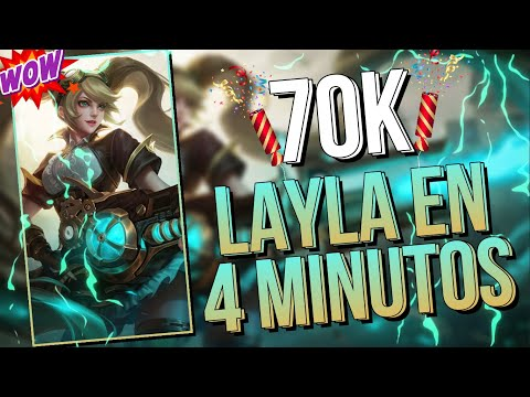 LAYLA EN 4 MINUTOS DESPUES DEL REWORK ?Como usar a Layla, Layla Gu?a ?? MOBILE LEGENDS NEXT ESPA?OL