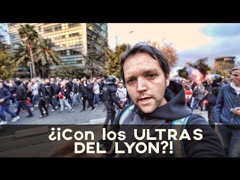 🔥 ¡¡CON LOS ULTRAS DEL LYON!! 🔥 Barça 5 Lyon 1 | Vlog 129