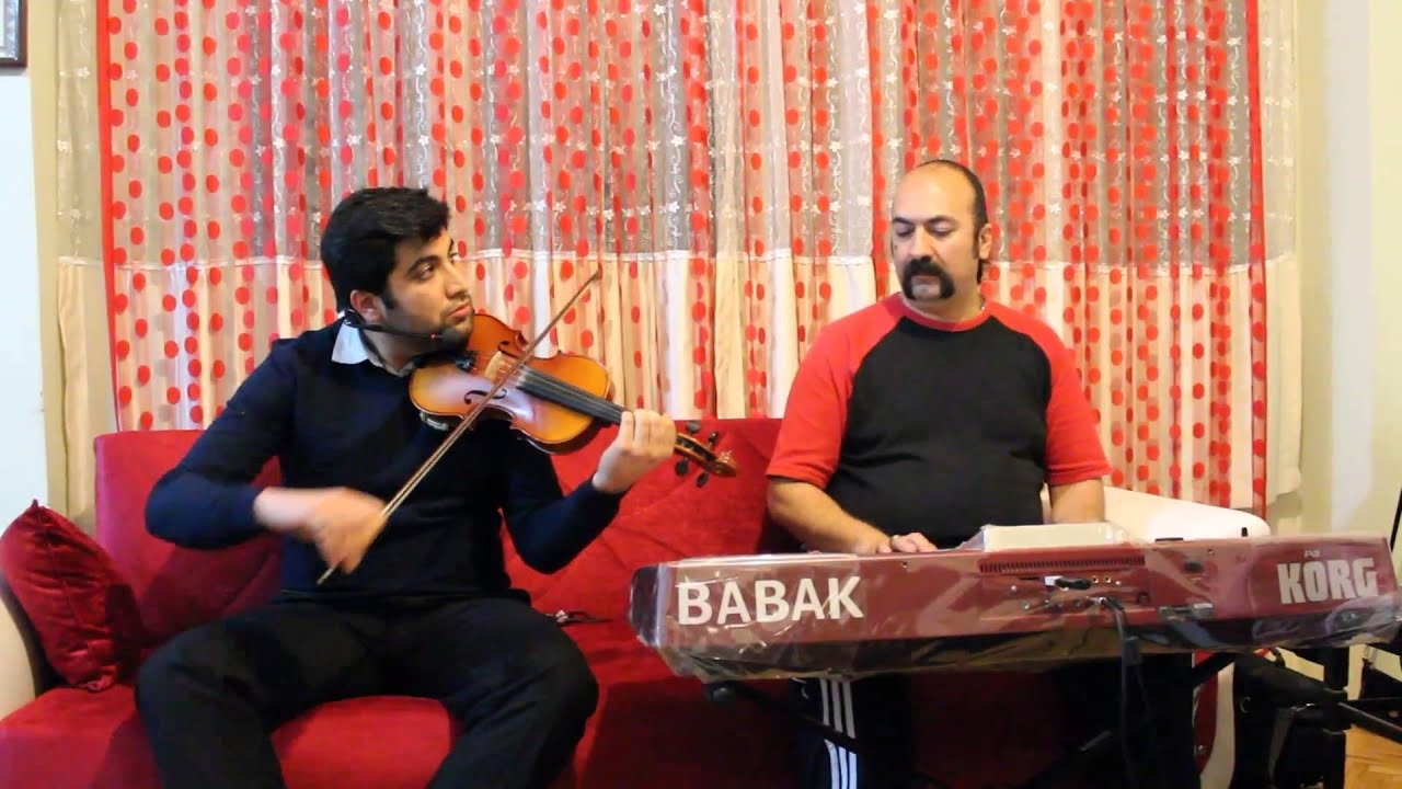 Persian Old Music With Babak Edris الف ب Youtube