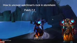 How to find Watchman's Rock in Stormheim Patch 7.2