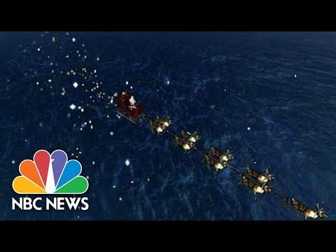 Watch Live: NORAD Tracks Santa Claus As He Flies Across The Globe | NBC News