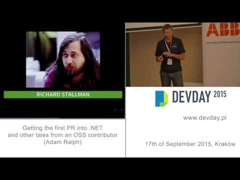 Adam Ralph - Getting the first PR into .NET and other tales from an OSS contributor