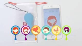 Вагинальный массажер Fun Toys Gballs2 App 2