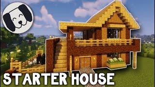 Minecraft: EASY Starter House #1 Tutorial! YouTube