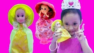 Mainan Anak Princess Cupcake Doll Surprise