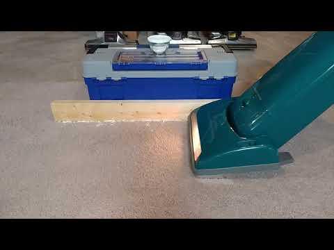 Carpet Edge Cleaning Using A Riccar 8850