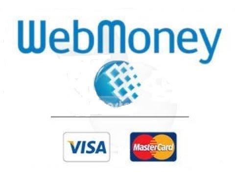 كيفية شحن بنك WebMoney  ببطاقة مصرفية ماستر كارد او فيزا كارد Deposit To WebMoney With MrCrd Or Visa