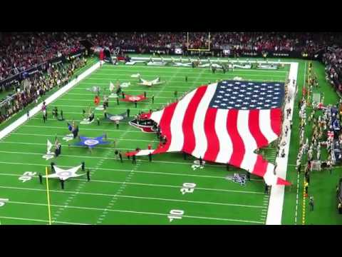 Texans vs Colts 2019 -- America's National Anthem