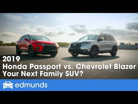 2019 Honda Passport vs. Chevy Blazer — Which Should Be Your Next Family SUV?