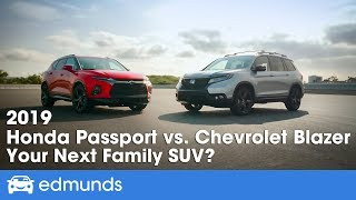 2019 Honda Passport Elite vs. Chevy Blazer RS — Which Should Be Your Next Family SUV?