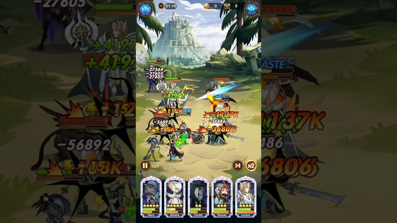 AFK Arena Stage 26-54 - YouTube