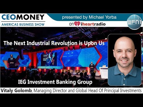 Vitaly Golomb from IEG Investment Banking
