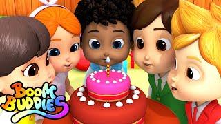 Happy Birthday Song | Cake Song | Nursery Rhymes & Kids Songs